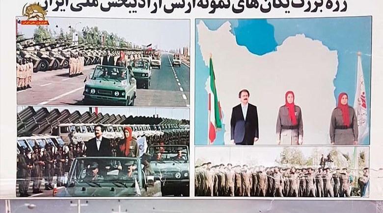 رژه ارتش آزادیبخش ملی ایران - اشرف