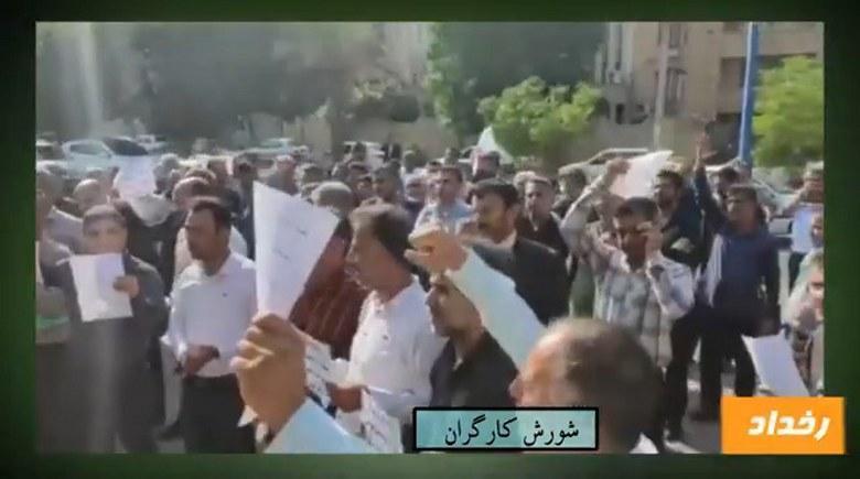انتقال دو زندانی سیاسی در اعتصاب غذا به سلول انفرادی
