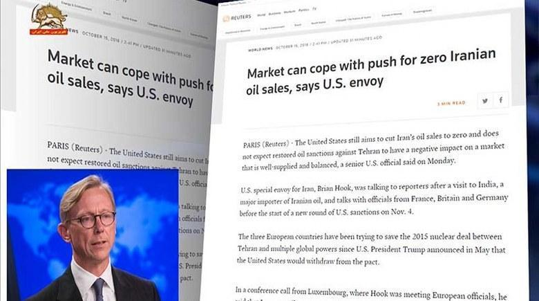 برایان هود گفت: هدف آمریکا، رساندن صادرات نفتی ایران به صفر است