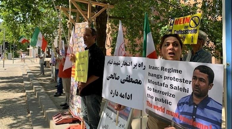 تهاجم کانونهای شورشی به مراکز سرکوب و اختناق بسیج، کمیته سپاه پاسداران